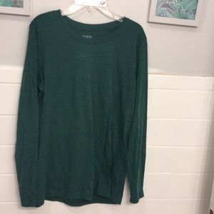 Medium green long sleeve